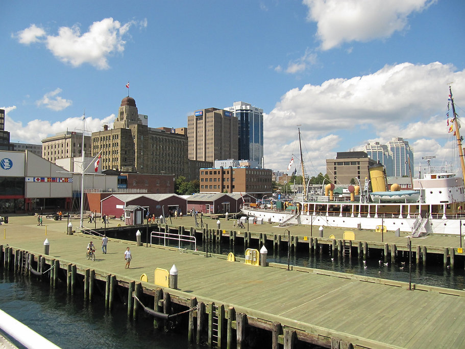 halifax seaport boardwalk audio walking tour