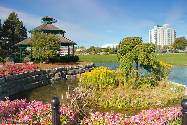 parks barrie things to do walking tour