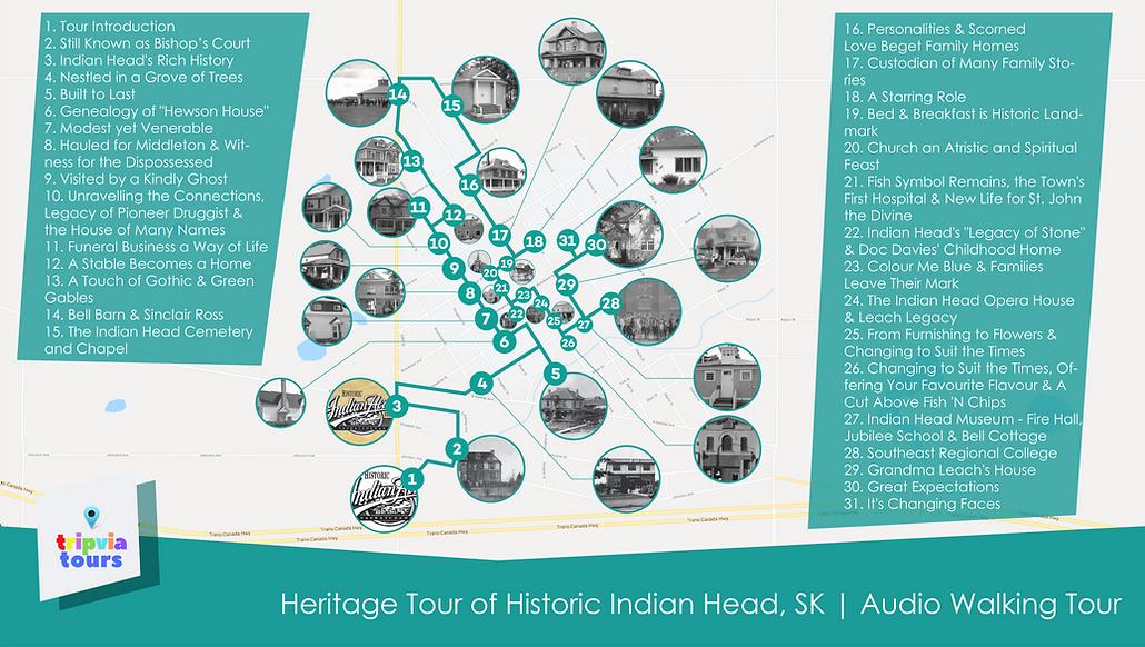 indian head audio walking tour