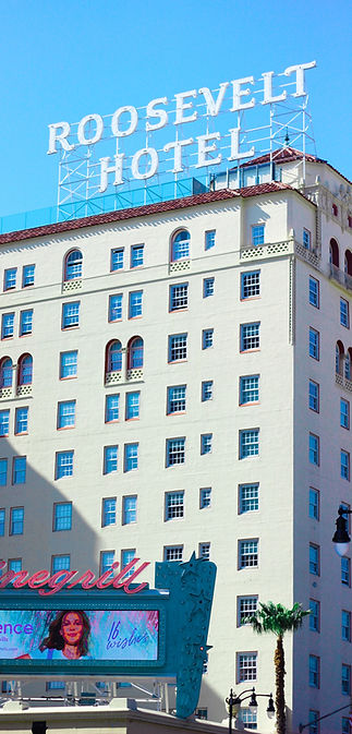 roosevelt hotel audio walking tour ghost hollywood