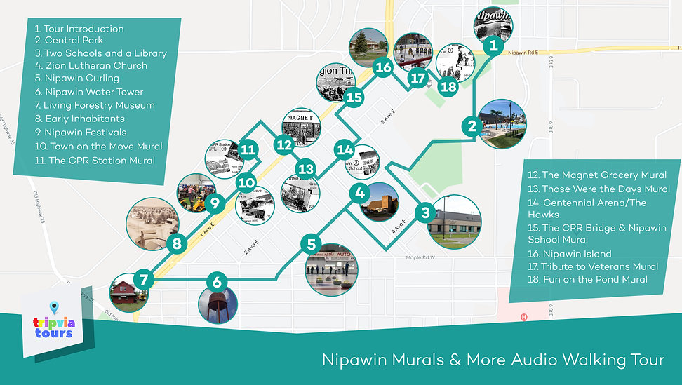 Nipawin audio walking tour