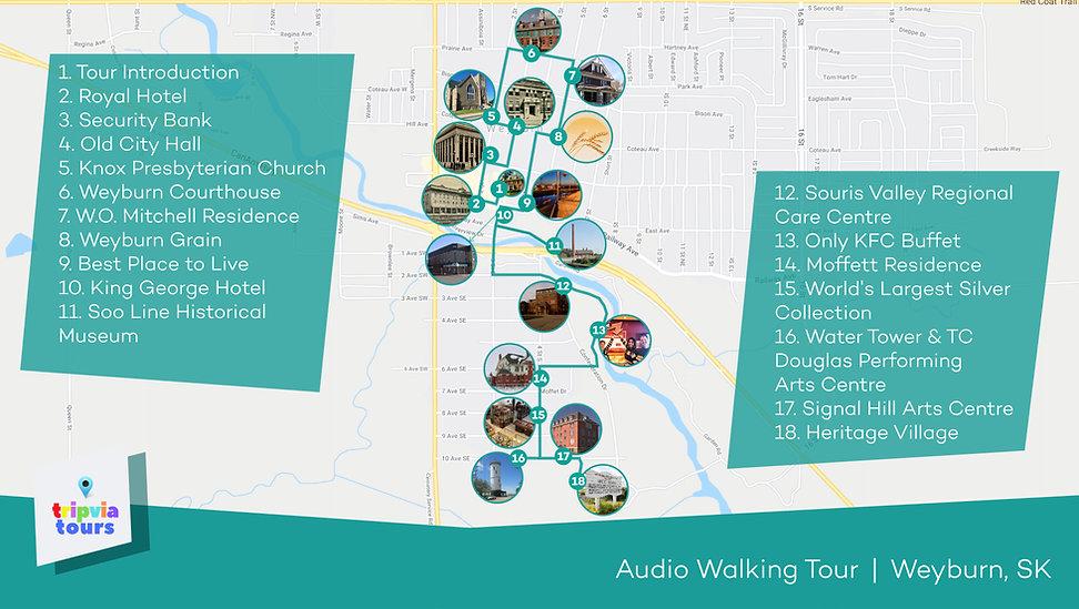 Weyburn Audio Walking Tour
