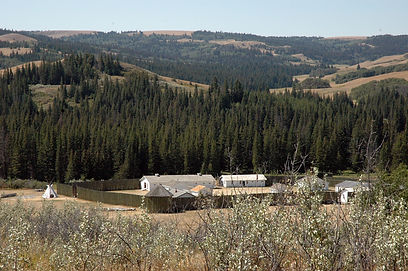 fort walsh historic site