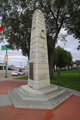 Estevan War Monument audio walking tour