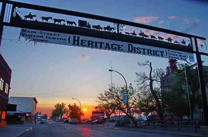 Maple Creek, SK | Walking Tour