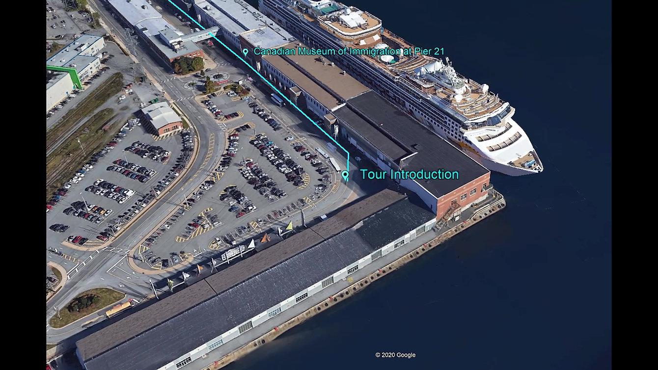 self-guided audio walking tour halifax harbour seaport boardwalk