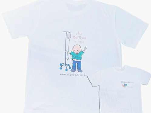 T-Shirt Villa Rozerood