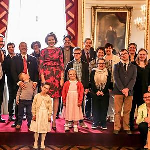 Queen visiting (Palais Royal) 2016