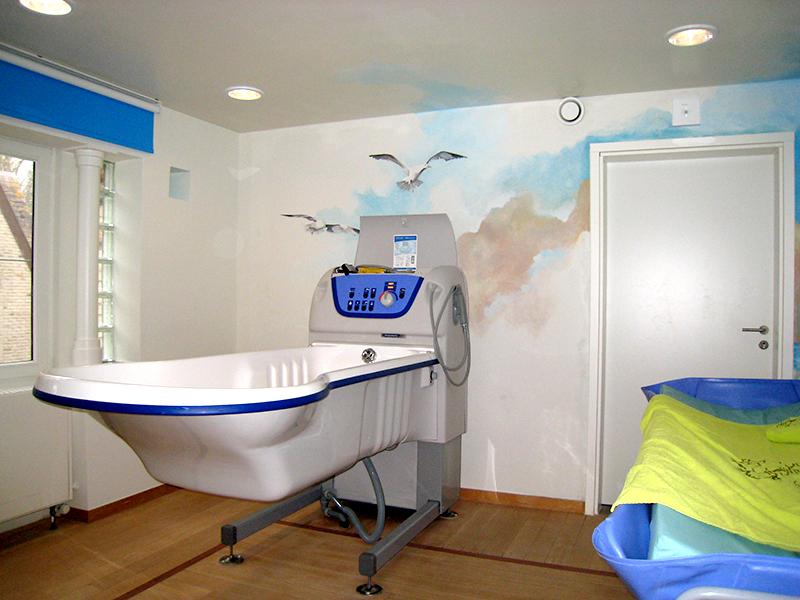 Verzorgingsbadkamer