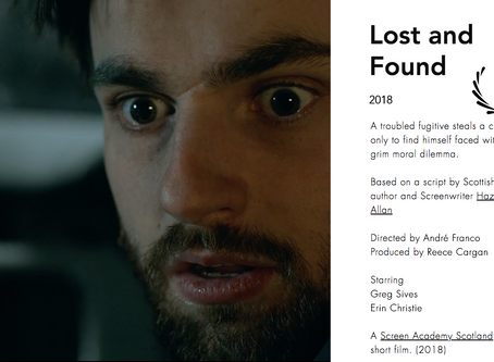 Lost and Found to premiere at Edinburgh Short Film Festival