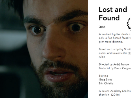 Lost and Found to premiere at Edinburgh Short Film Festival