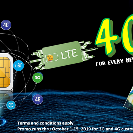 Free 40MB Data on New Sim Cards