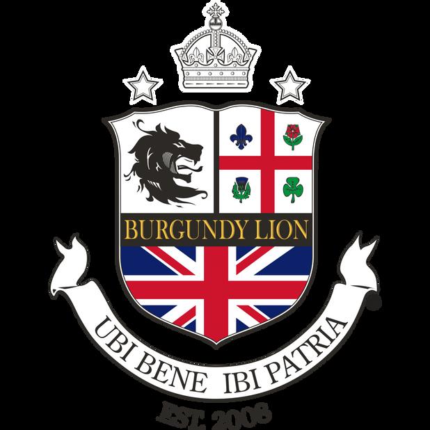 Burgundy Lion