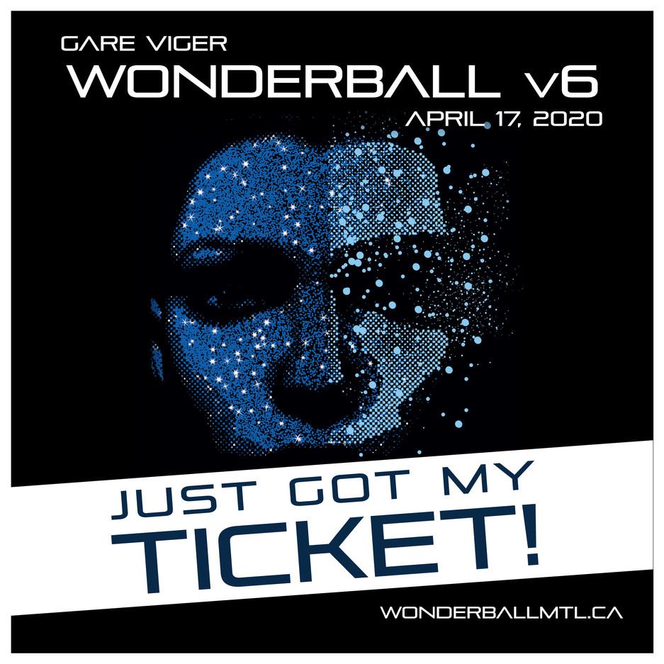 Got My Ticket! - Image pour publication