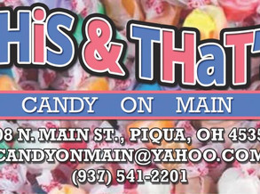 VAN STOP - This & That's Candy on Main