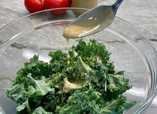 Ginger Tahini Salad Dressing