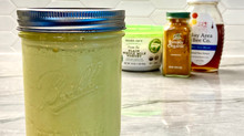 Turmeric Honey Salad Dressing