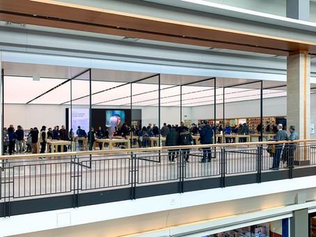 Inauguração: Toronto reabre segunda Apple Store com o design mais recente