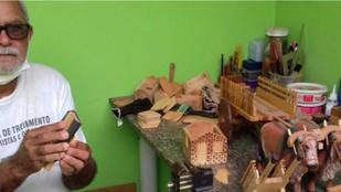 Conheça a história de um artesão
