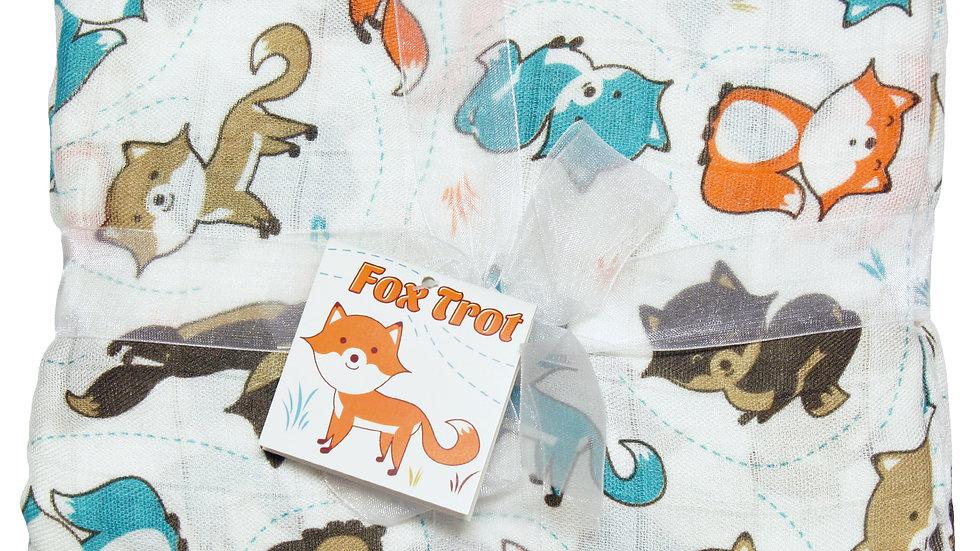Best Bottom Swaddle- Fox Trot