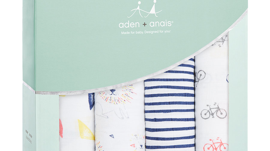 Classic Swaddles 4-pack