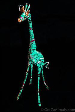 Teal Giraffe