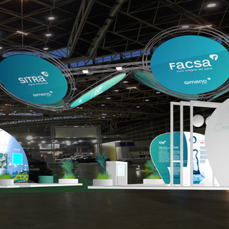 Stand design / Ecofira / Grupo Gimeno