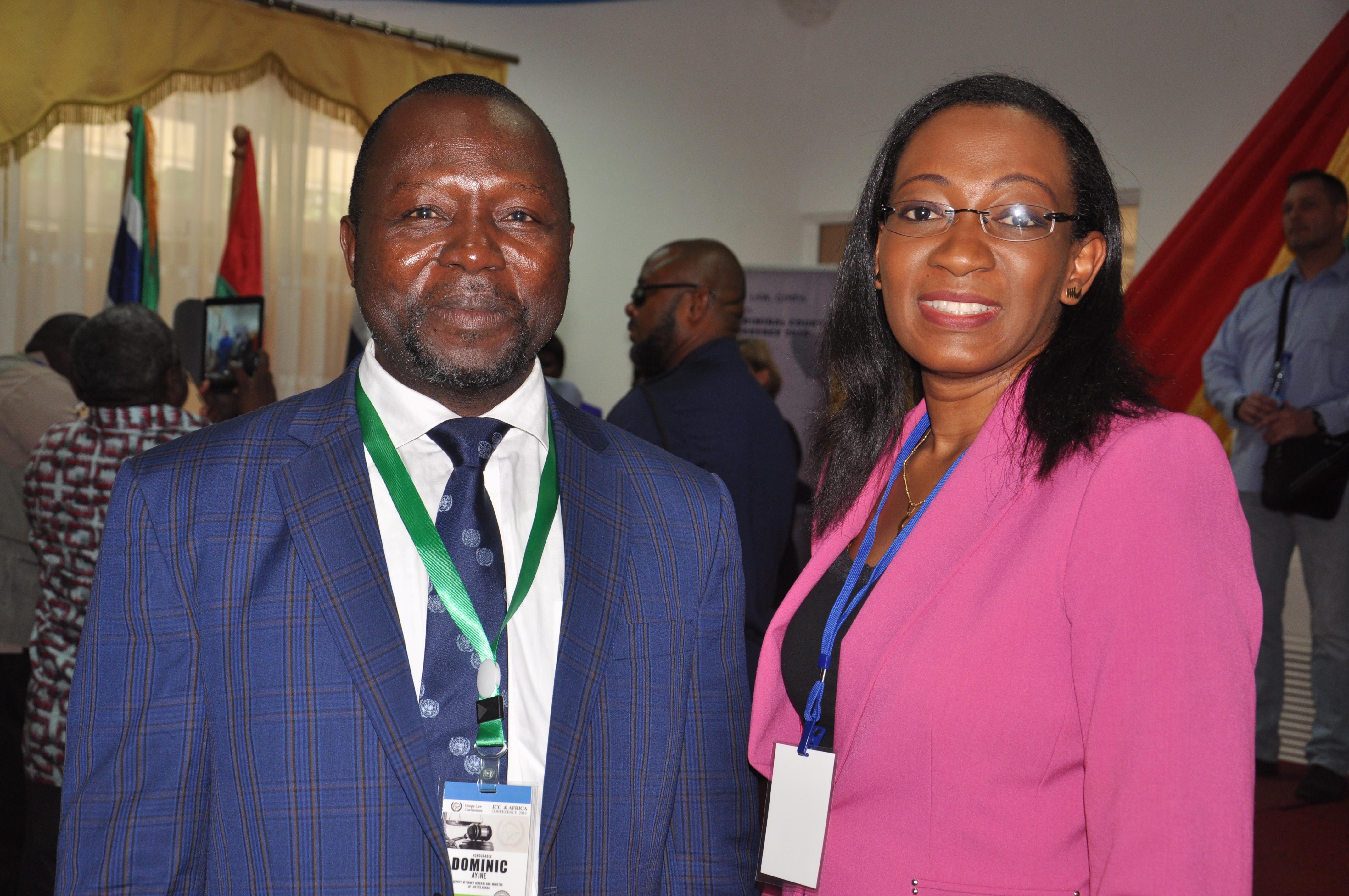 Dep. AG of Ghana Dr. Ayine