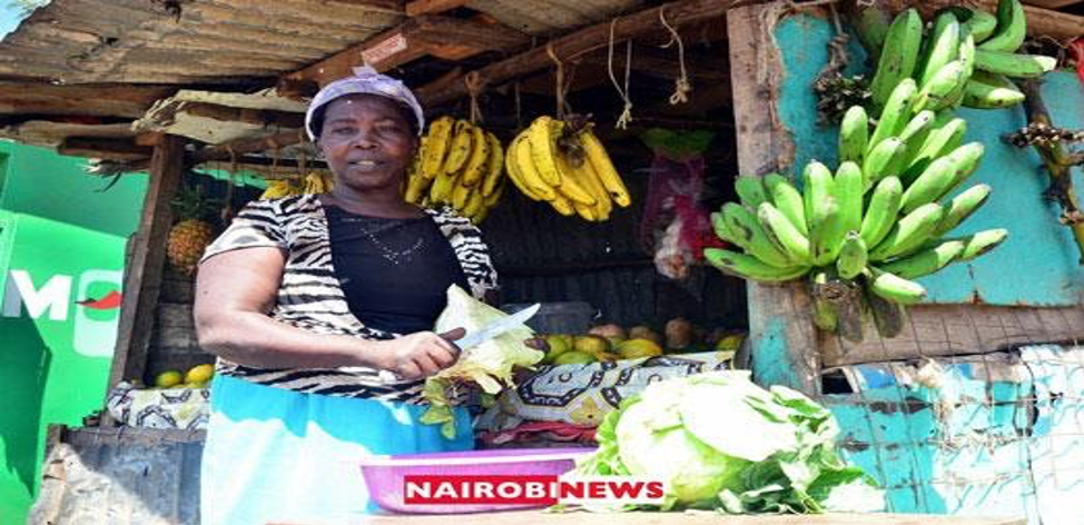 Kenyan woman at the market