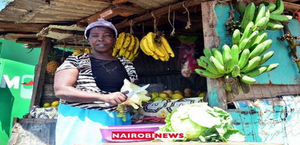 Kenyan woman at the market
