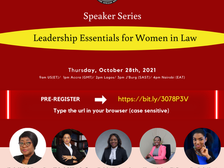 Join us for our Speaker Series !