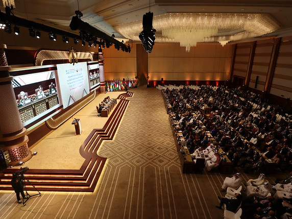 Engaging Judiciaries: IAWL Participates in UNODC Judicial Integrity Network Conference in Doha.