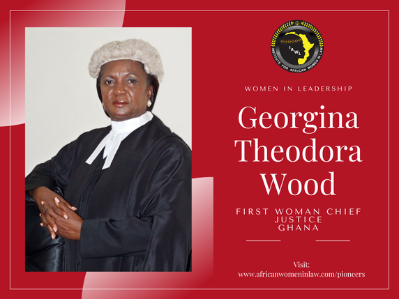 Spotlight on Women in Leadership: Justice Georgina Theodora Wood