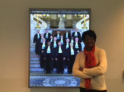Chilling with ICJ Judges @ The Hague