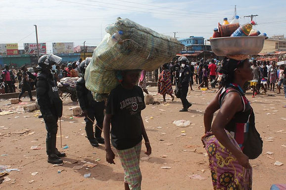 COVID-19 and Violence Against Women in Liberia