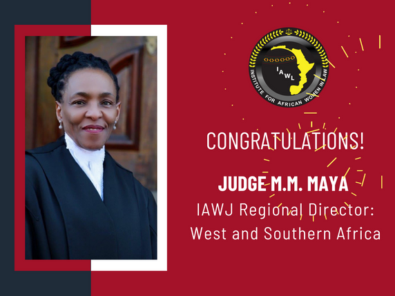 Justice M.M. Maya Elected IAWJ Regional Director