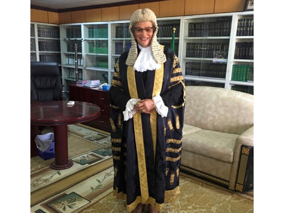 """""""As straight as an arrow!"""" Justice Amina Augie's  Journey to the Supreme Court of Nigeria"""