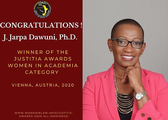 IAWL Wins Prestigious Women in Law Awards.
