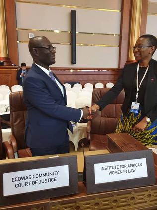 IAWL meets ECOWAS court