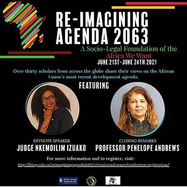 Re-imagining Agenda 2063 Conference: June 21-24, 2021