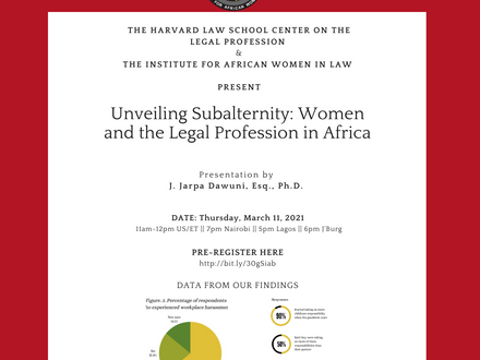 Join us @ the Harvard Law School Center on the Legal Profession