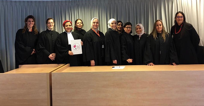 Women Judges from the MENA Region Visit The Netherlands