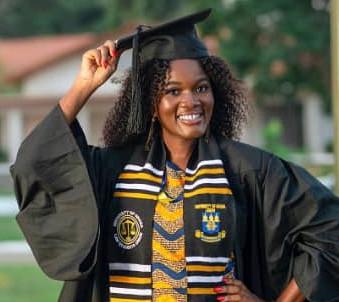 Congrats to IAWL Intern Christine Lassey: Valedictorian at the University of Ghana -School of Law