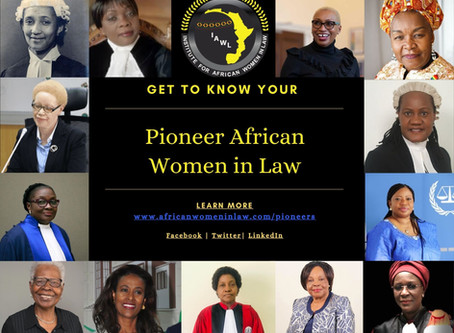 Pioneer African Women in Law