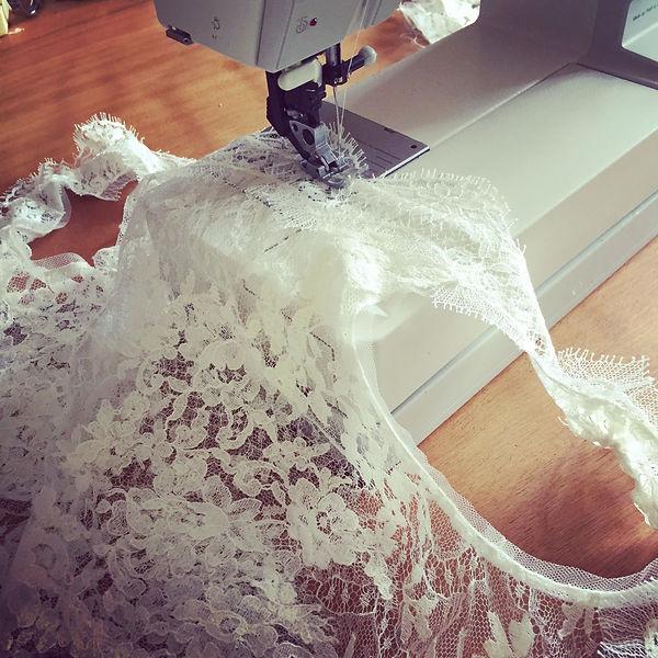monter et personnaliser votre robe de mariée
