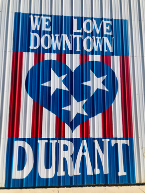 Love Durant Mural