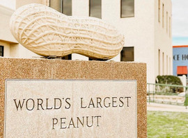 World's Largest Peanut Monument