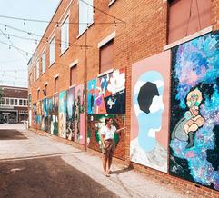 Magnolia Mile Art Alley