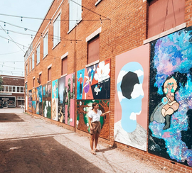 Magnolia Mile Art Alley