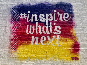 Inspire What's Next Mural
